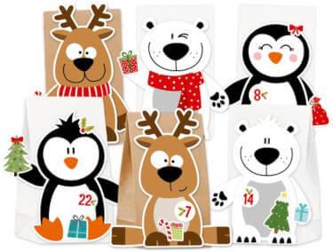 KuschelICH X-Mas Friends Adventskalender Tiere