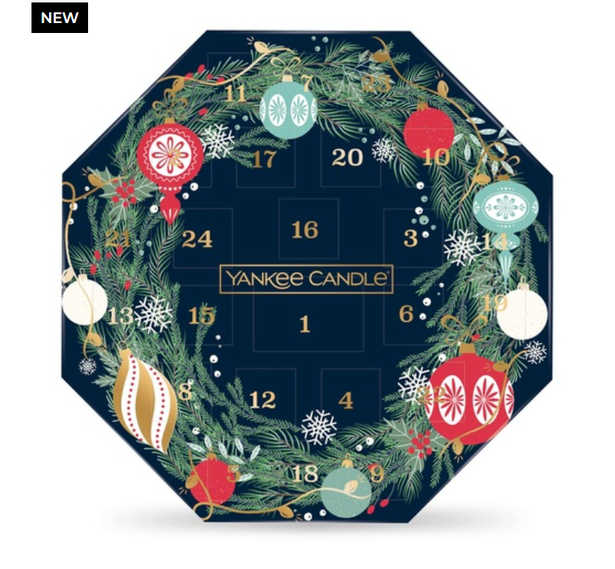 Yankee Candle Advent Wreath Calendar 2021